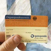 integrated donor cards