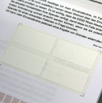 medical forms with labels - Digikett GmbH